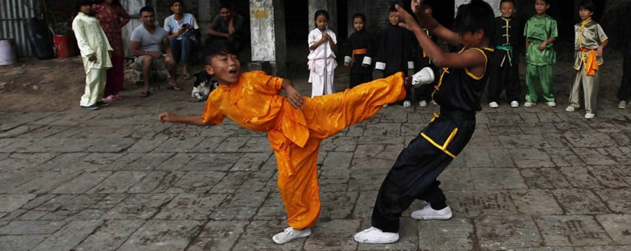 Wushu Kung-Fu bambini Bergamo