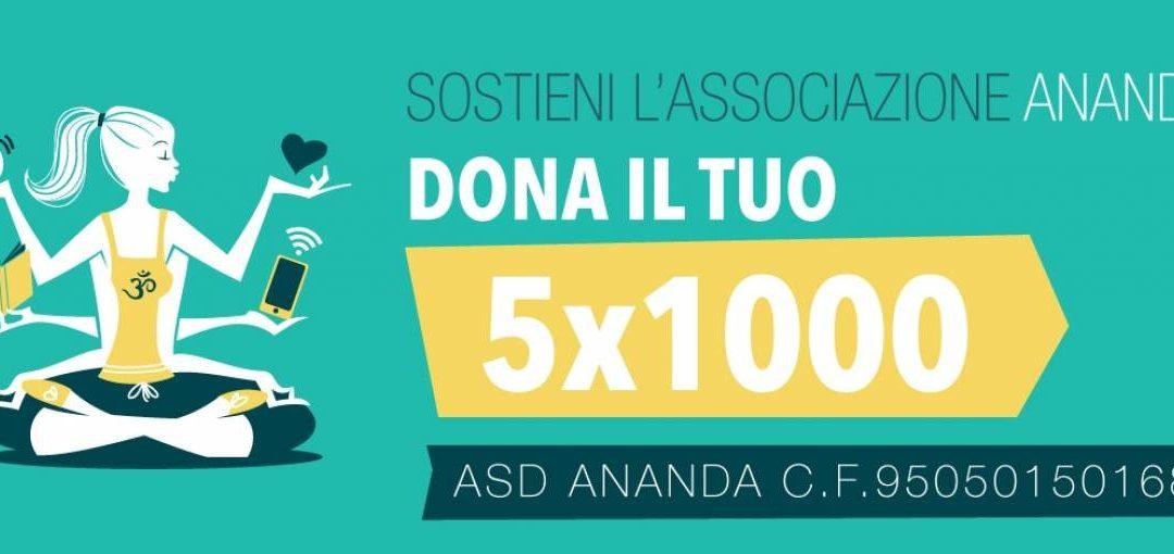 SOSTIENI L'ASSOCIAZIONE 5X1000
